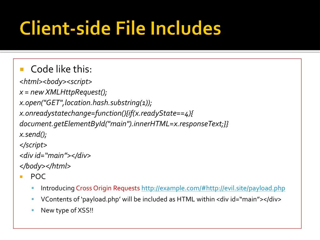  Code like this: <html><body><script> x = new ...