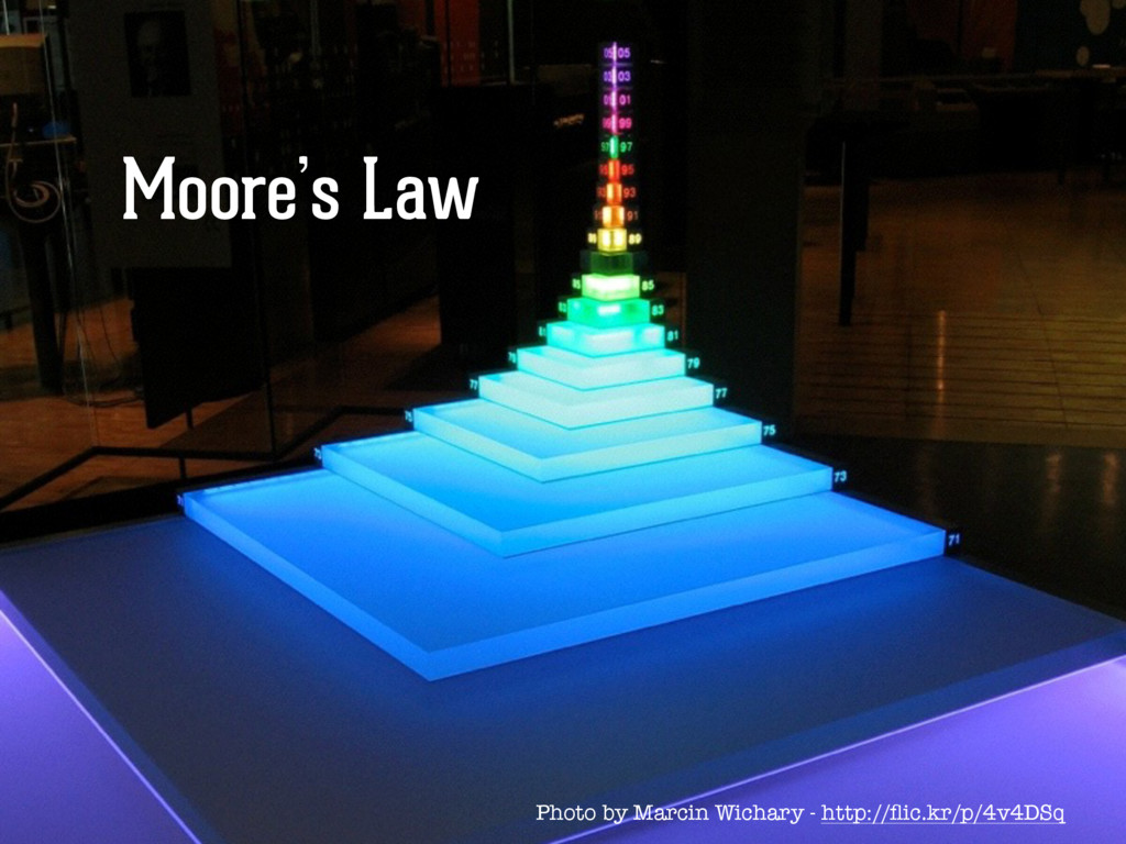 Moore's Law Photo by Marcin Wichary - http://fli...