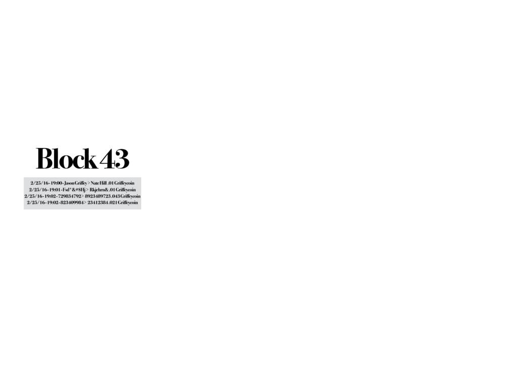 Block 43