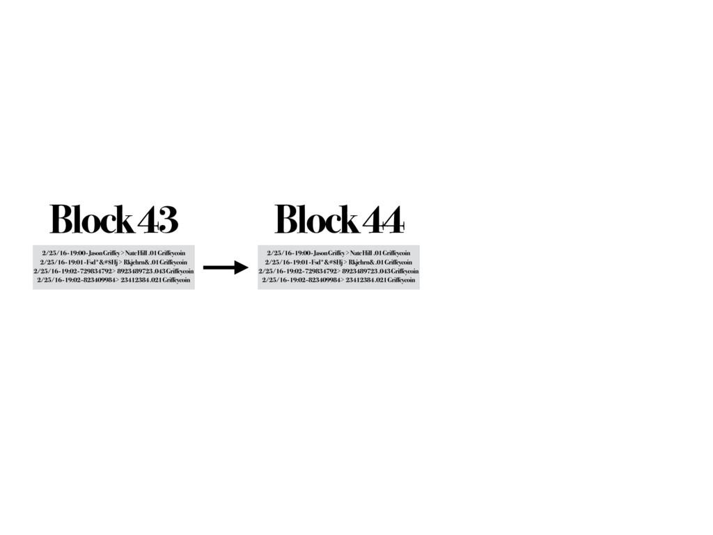 Block 43 Block 44