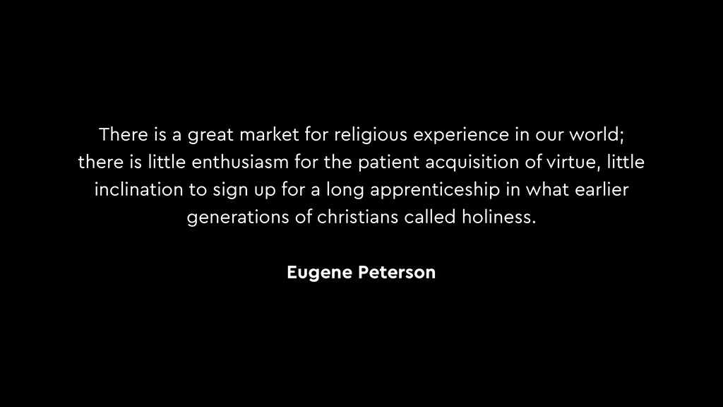 There is a great market for religious experienc...