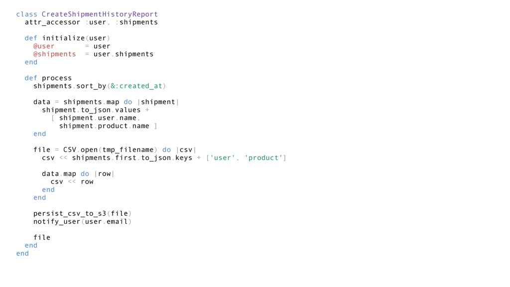 class CreateShipmentHistoryReport attr_accessor...