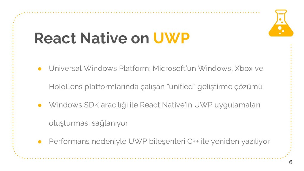 React Native on UWP ● Universal Windows Platfor...