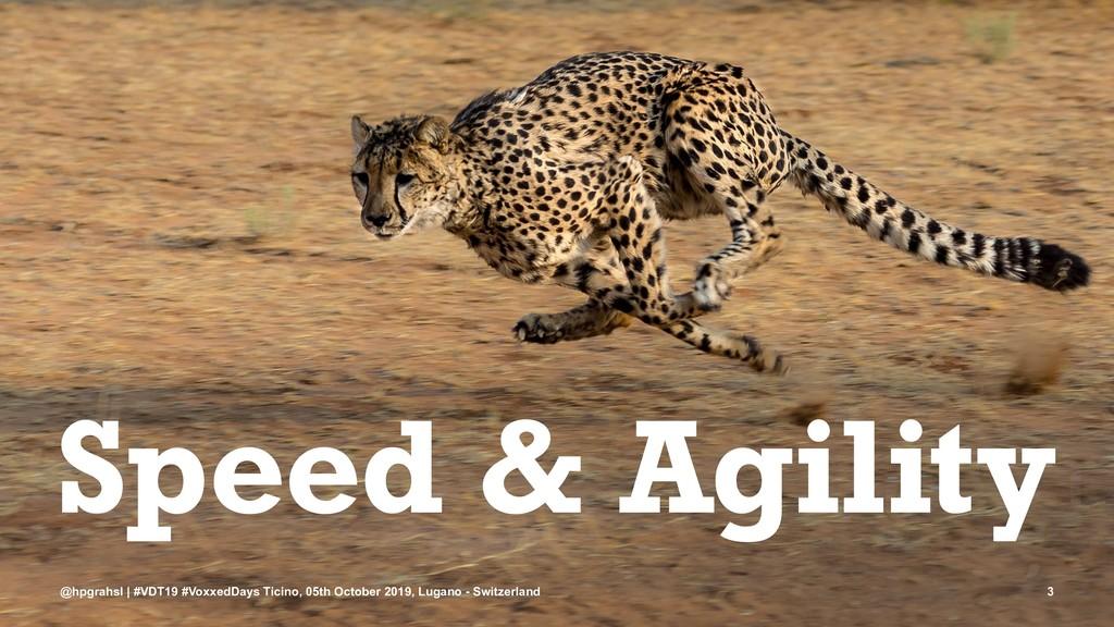 Speed & Agility @hpgrahsl | #VDT19 #VoxxedDays ...