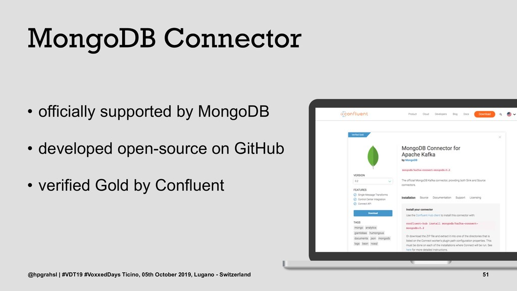 MongoDB Connector • officially supported by Mon...