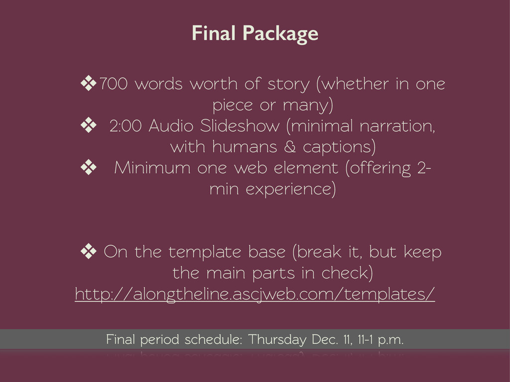 Final Package ❖700 words worth of story (whethe...