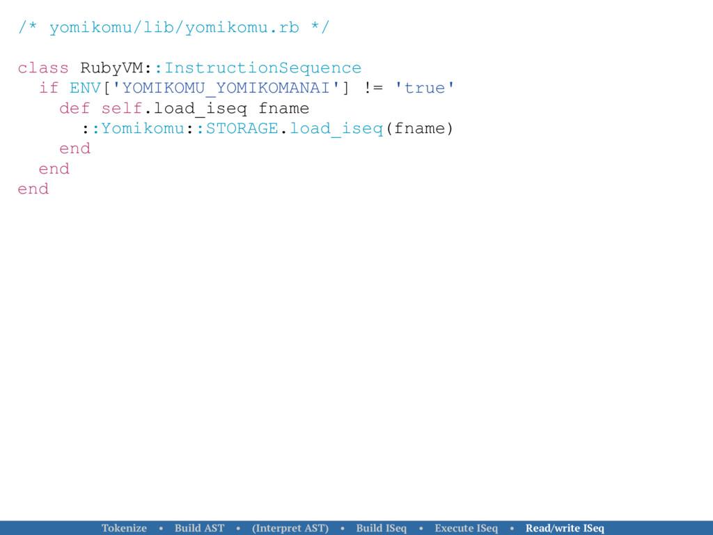 /* yomikomu/lib/yomikomu.rb */ class RubyVM::In...