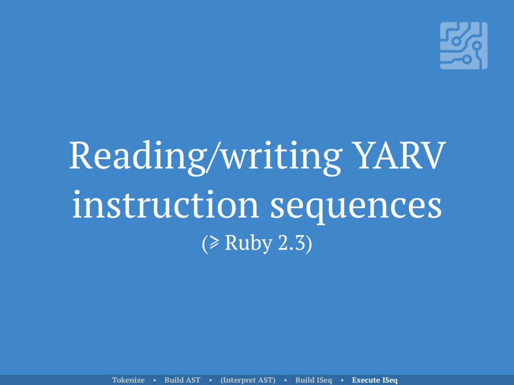 Reading/writing YARV instruction sequences (≥ R...