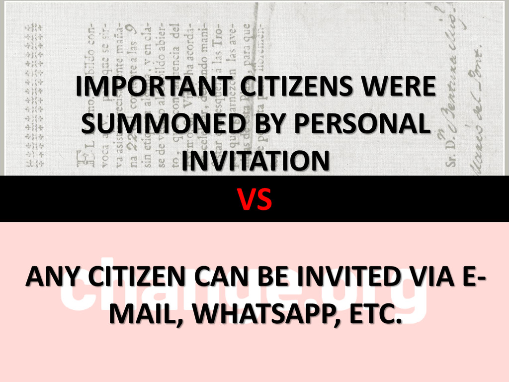 VS IMPORTANT CITIZENS WERE SUMMONED BY PERSONAL...