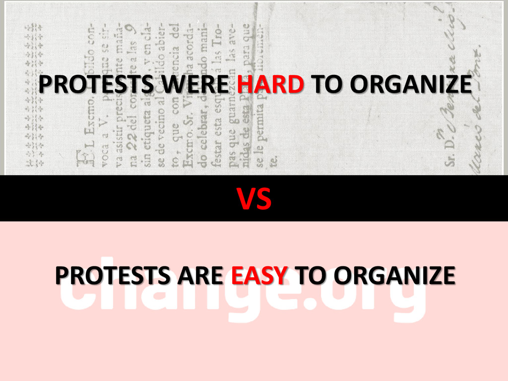 VS PROTESTS WERE HARD TO ORGANIZE PROTESTS ARE ...