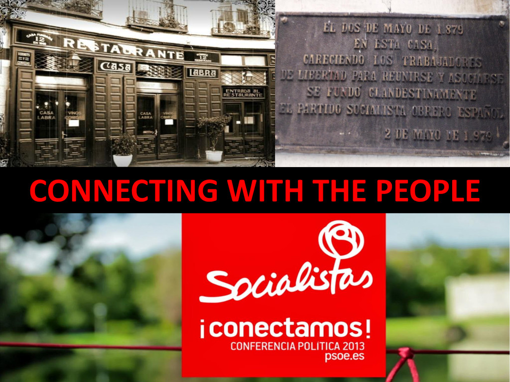CONNECTING WITH THE PEOPLE