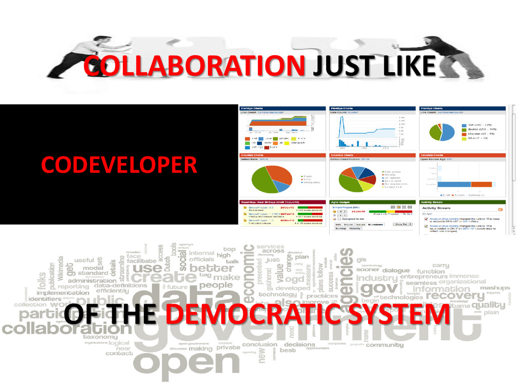 COLLABORATION JUST LIKE OF THE DEMOCRATIC SYSTE...