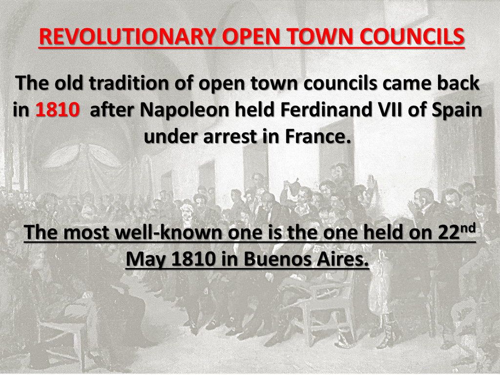 The old tradition of open town councils came ba...