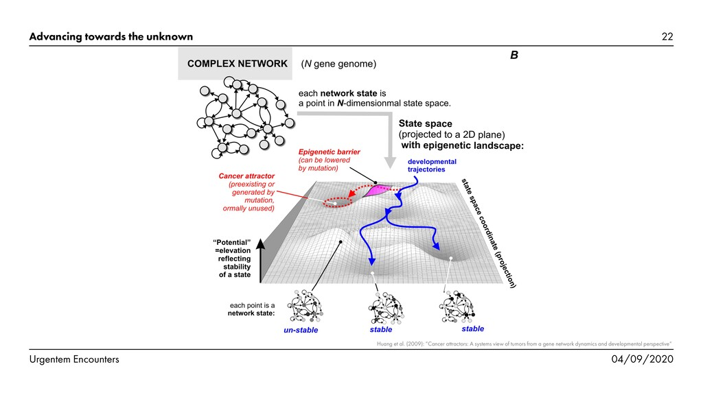 FIGURE 2. From network dynamics to epigenetic l...