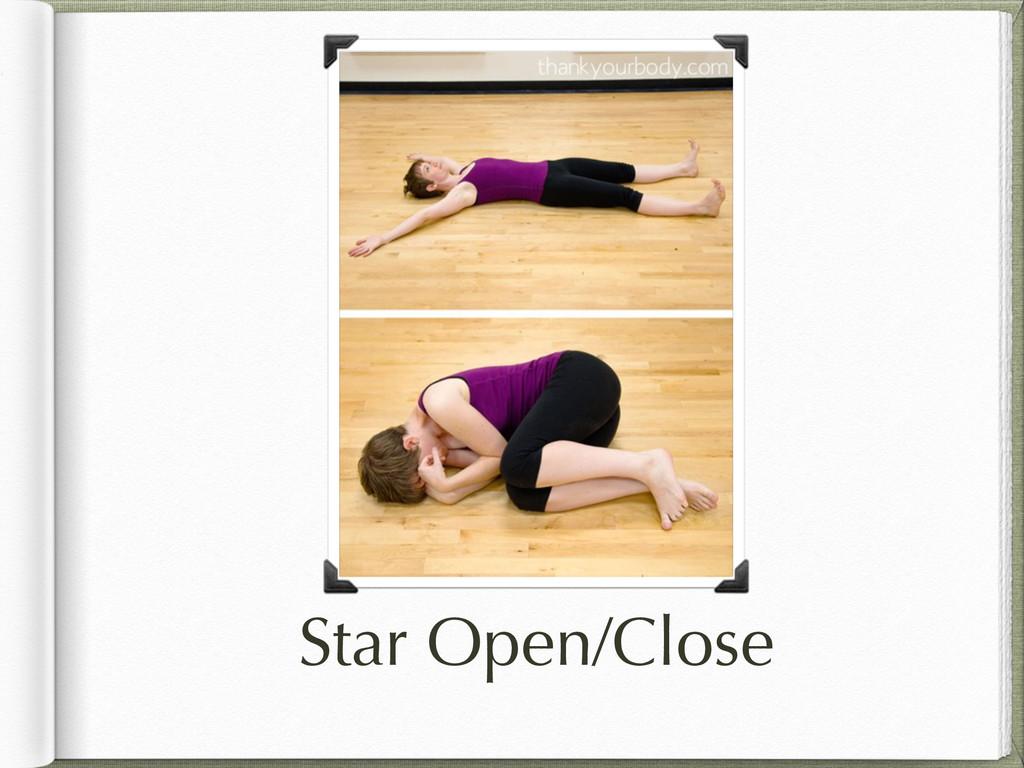 Star Open/Close
