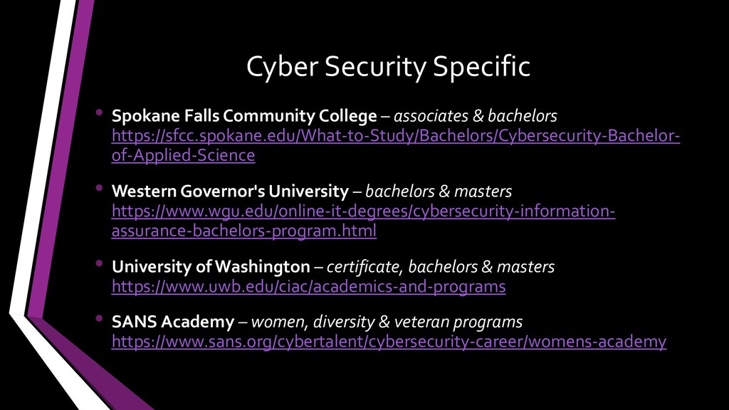 Cyber Security Specific • Spokane Falls Communi...