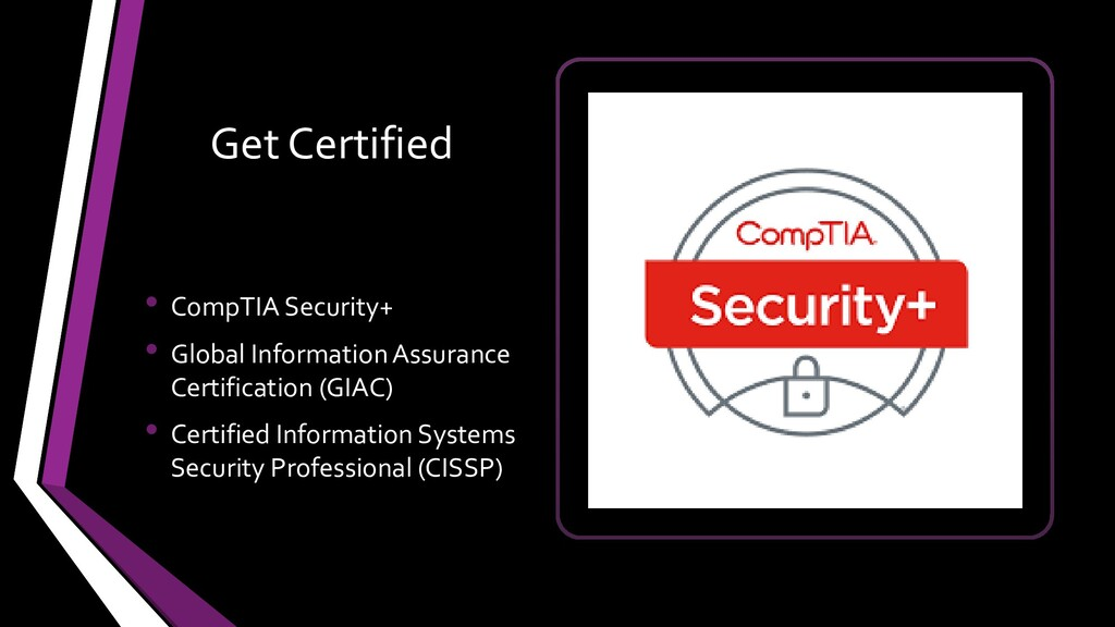 Get Certified • CompTIA Security+ • Global Info...
