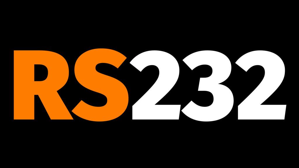 RS232