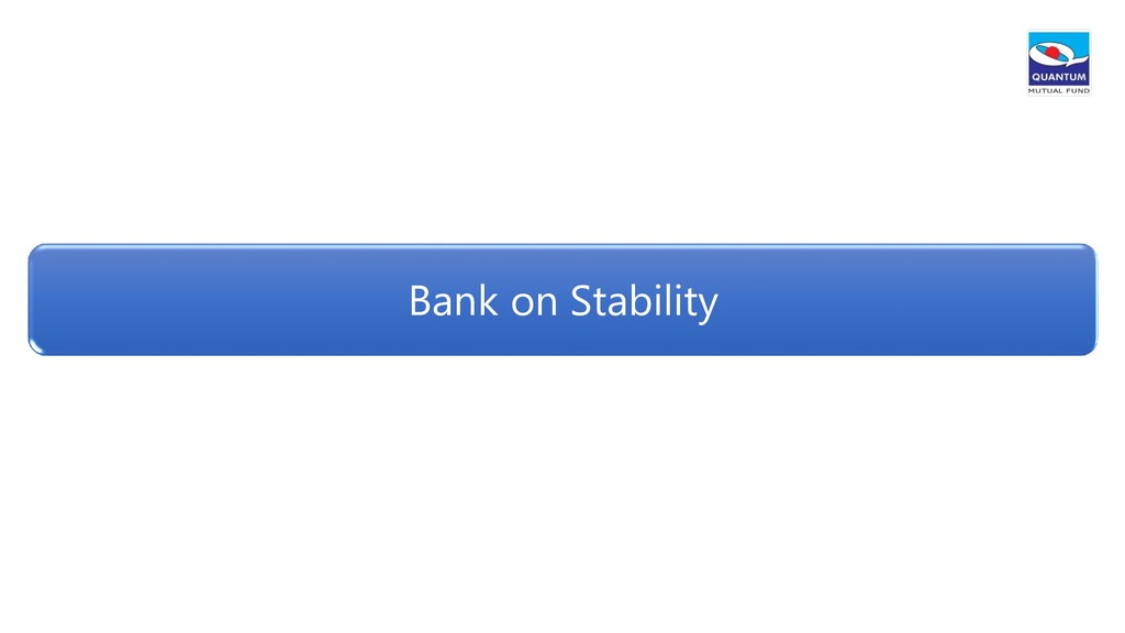 Bank on Stability
