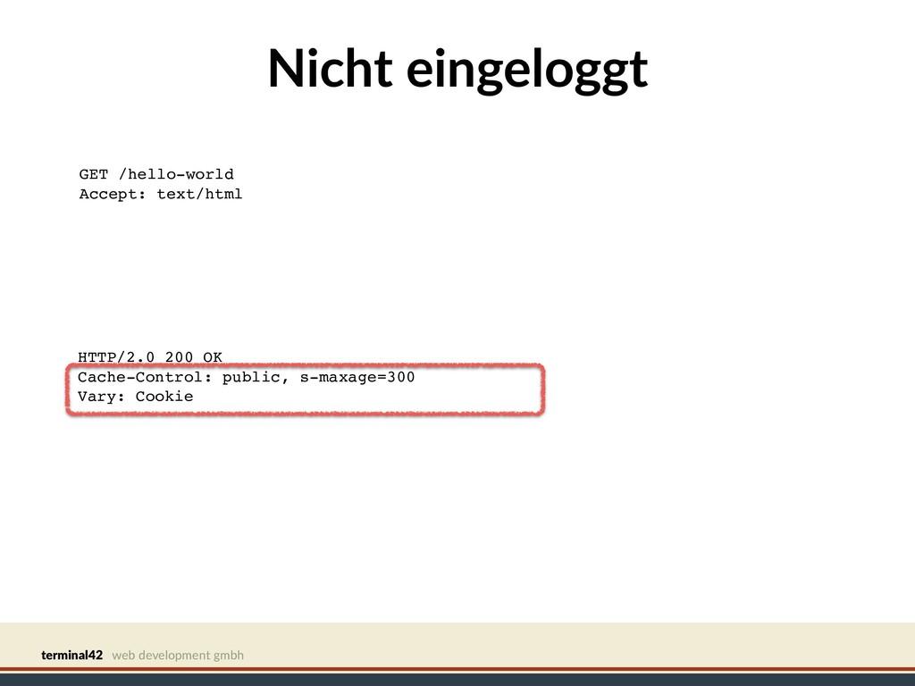terminal42 web development gmbh Nicht eingelogg...