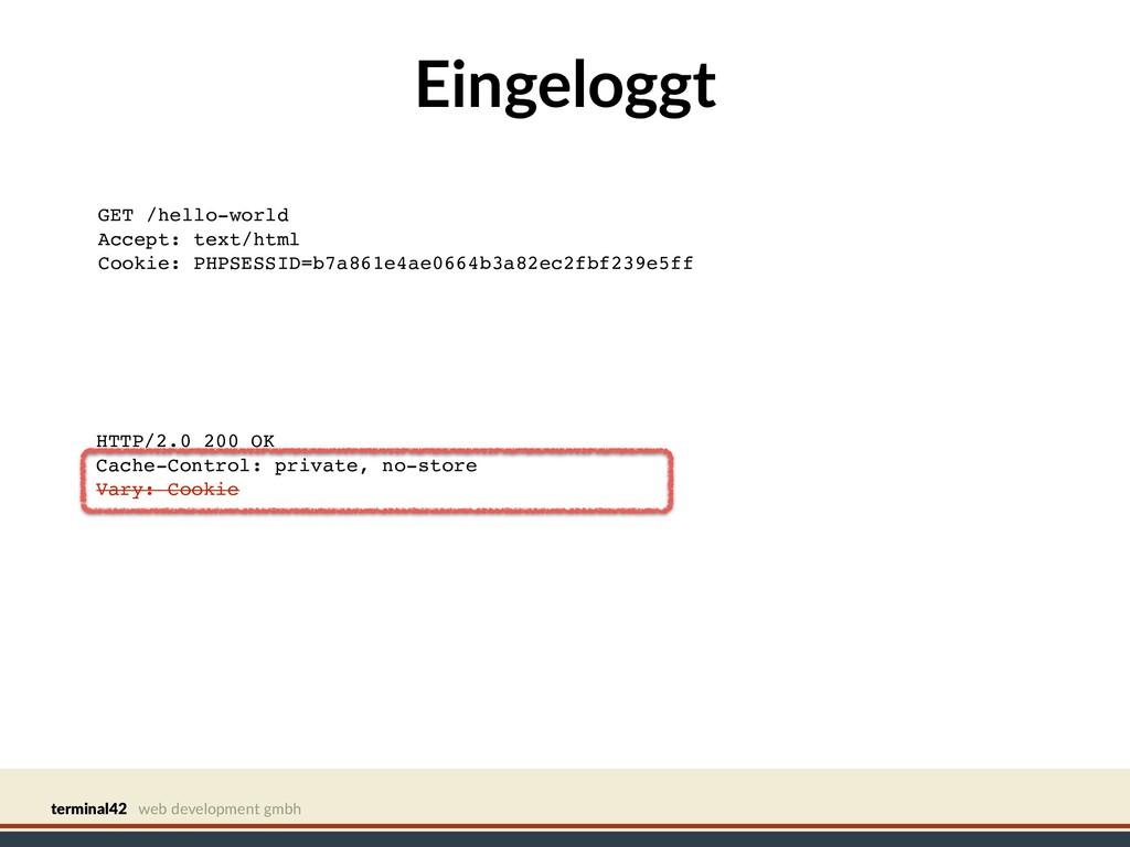 terminal42 web development gmbh Eingeloggt GET ...