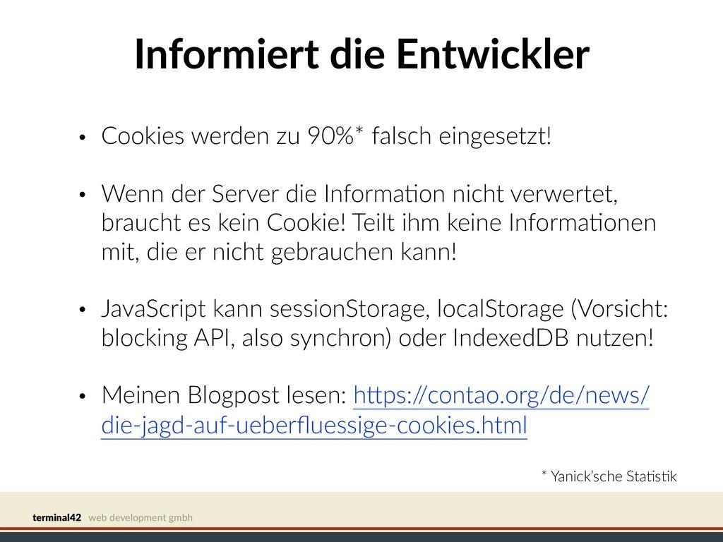 terminal42 web development gmbh Informiert die ...