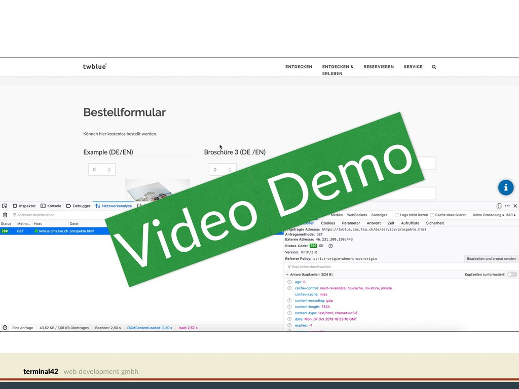 terminal42 web development gmbh Video Demo