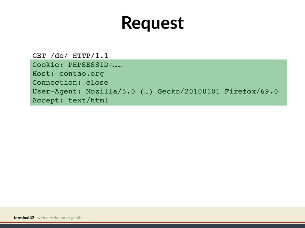 terminal42 web development gmbh Request GET /de...