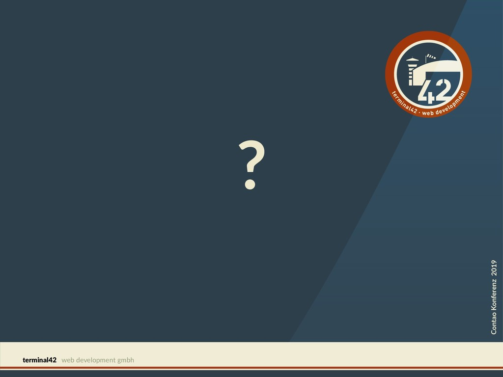 terminal42 web development gmbh ? Contao Konfer...