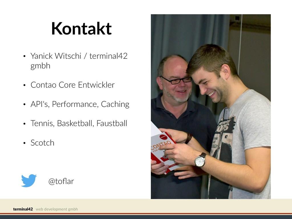 terminal42 web development gmbh Kontakt • Yanic...