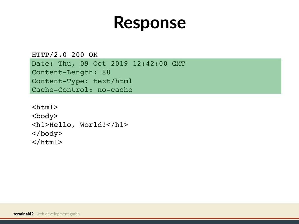 terminal42 web development gmbh Response HTTP/2...