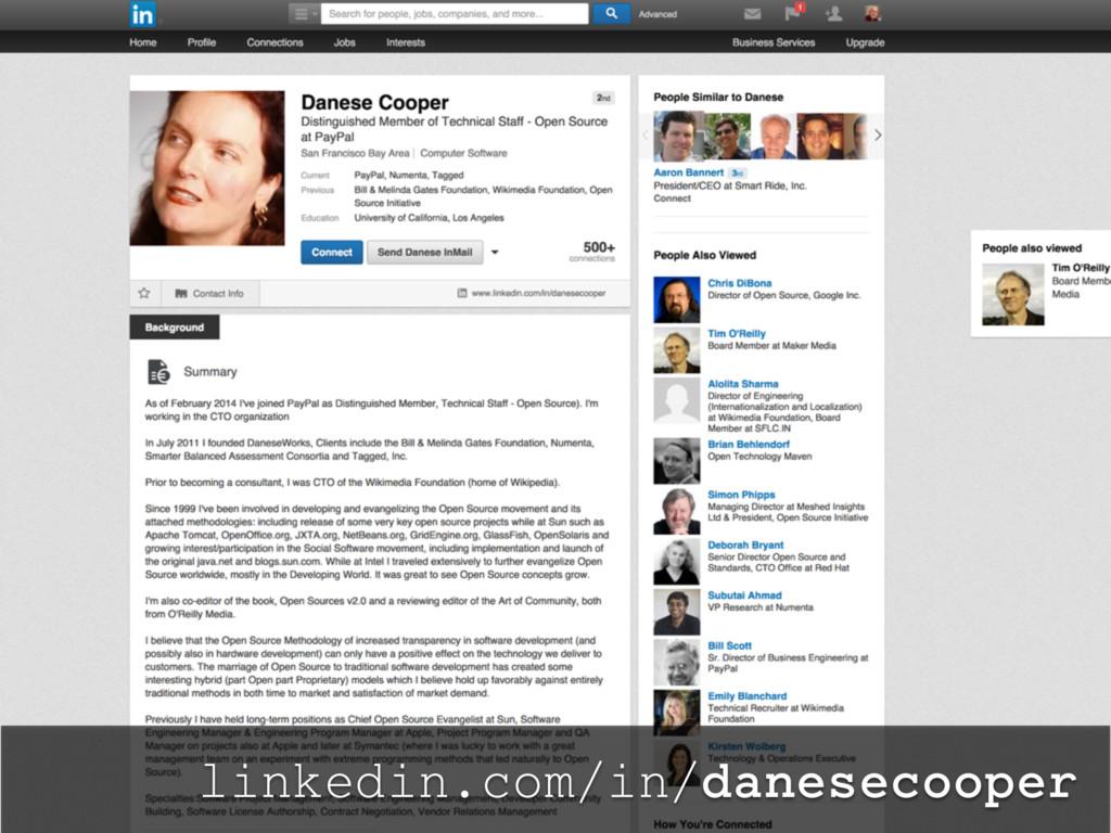 linkedin.com/in/danesecooper