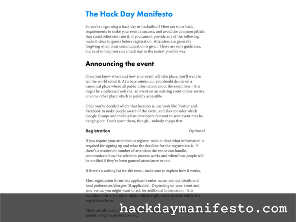 hackdaymanifesto.com