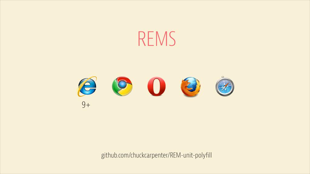 REMS 9+ github.com/chuckcarpenter/REM-unit-poly...