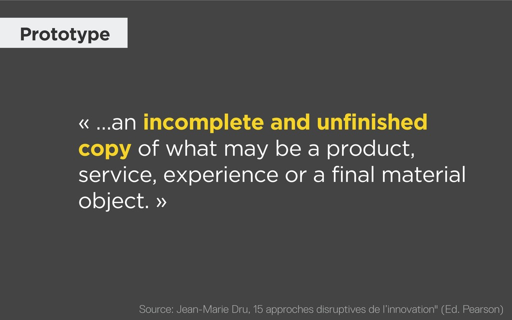« …an incomplete and unfinished copy of what ma...
