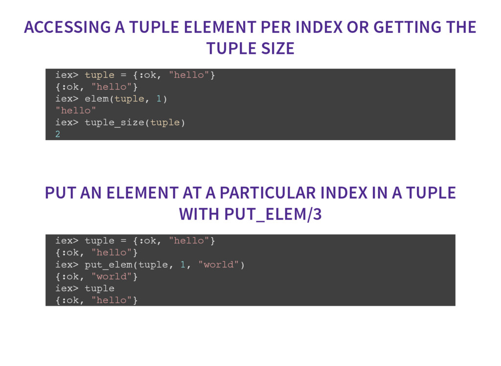 ACCESSING A TUPLE ELEMENT PER INDEX OR GETTING ...