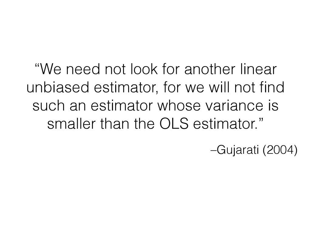"–Gujarati (2004) ""We need not look for another ..."