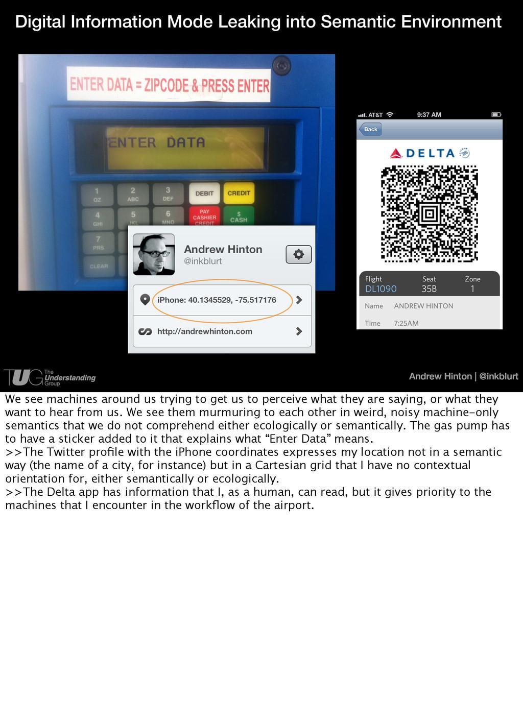 Andrew Hinton   @inkblurt Digital Information M...