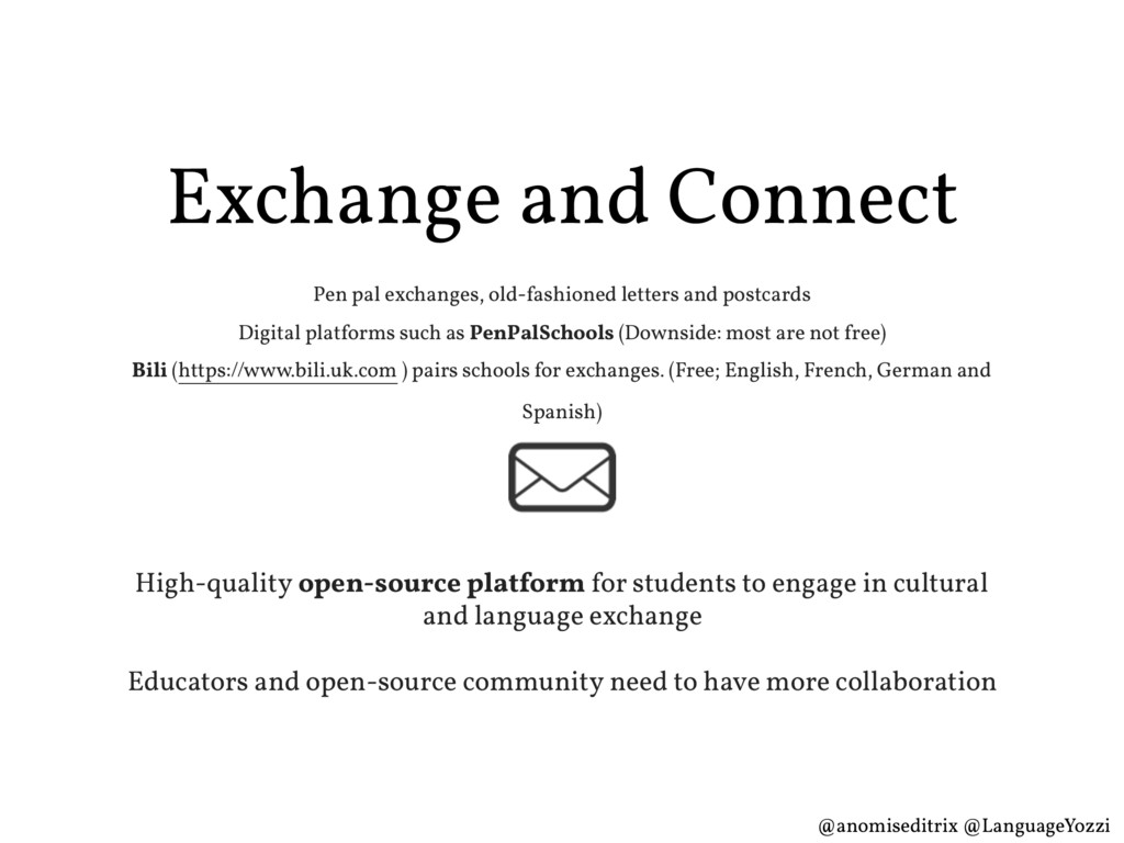 Exchange and Connect Pen pal exchanges, old-fas...