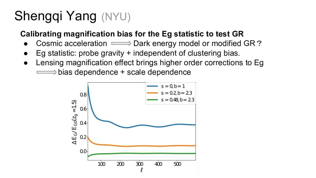 Shengqi Yang (NYU) Calibrating magnification bi...