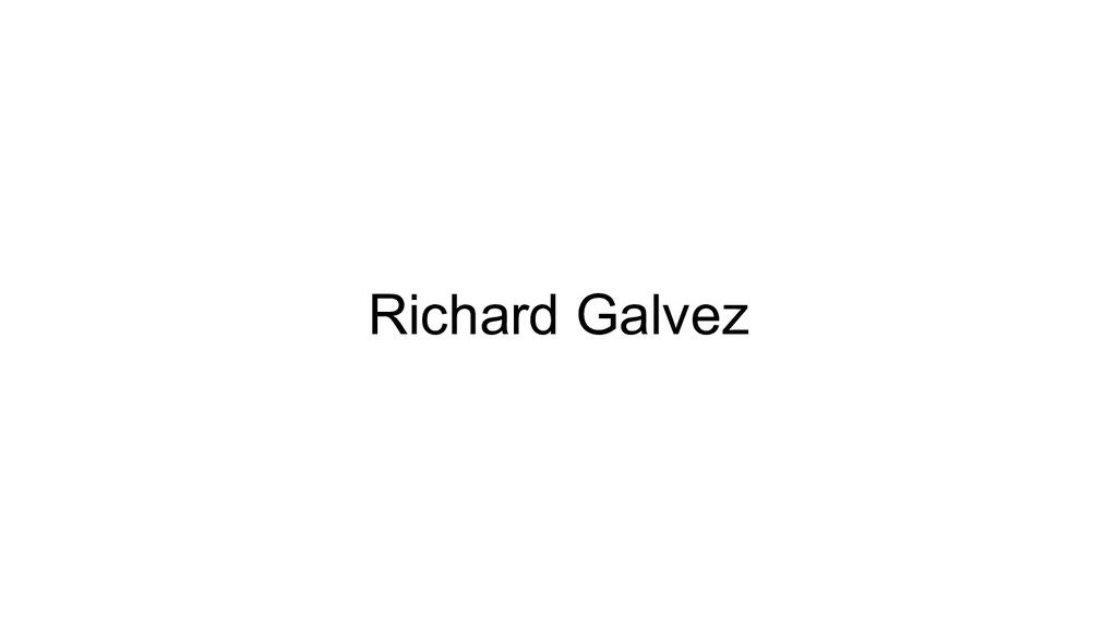 Richard Galvez