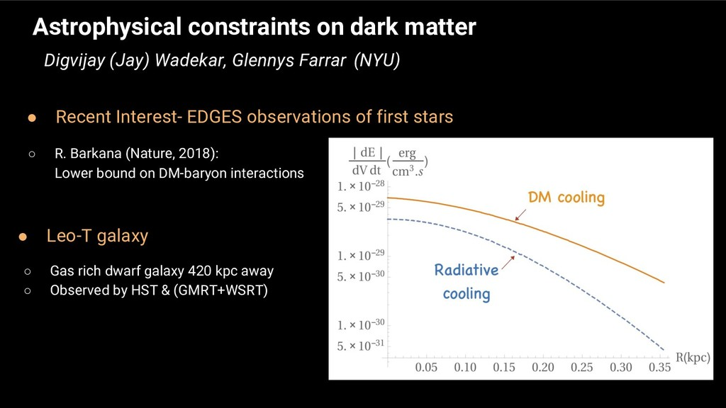 ● Leo-T galaxy Astrophysical constraints on dar...