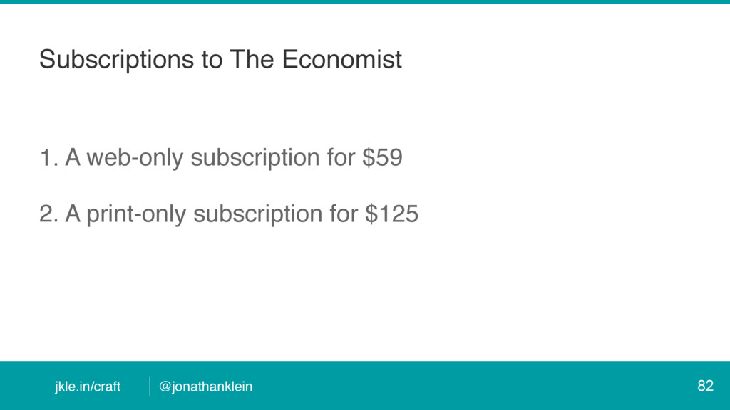 jkle.in/craft @jonathanklein Subscriptions to T...