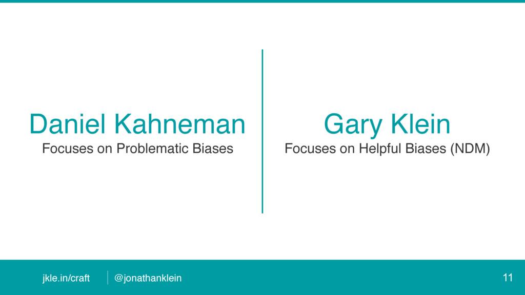 @jonathanklein jkle.in/craft Daniel Kahneman Fo...