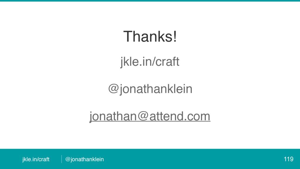 @jonathanklein jkle.in/craft Thanks! jkle.in/cr...