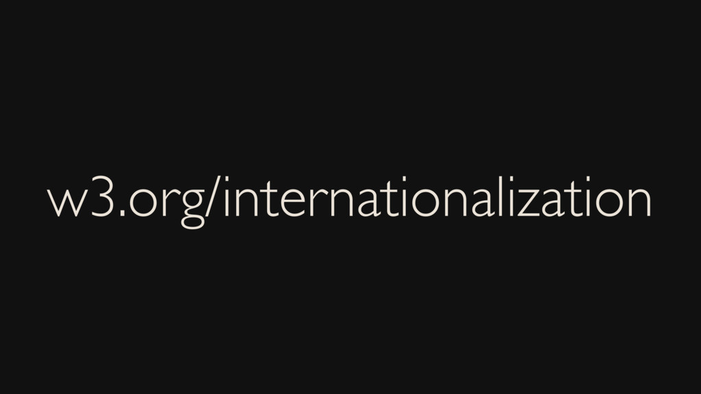 w3.org/internationalization