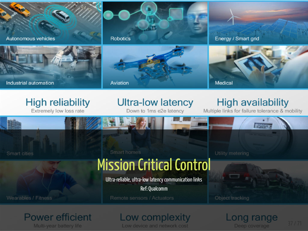 Mission Critical Control Ultra-reliable, ultra-...