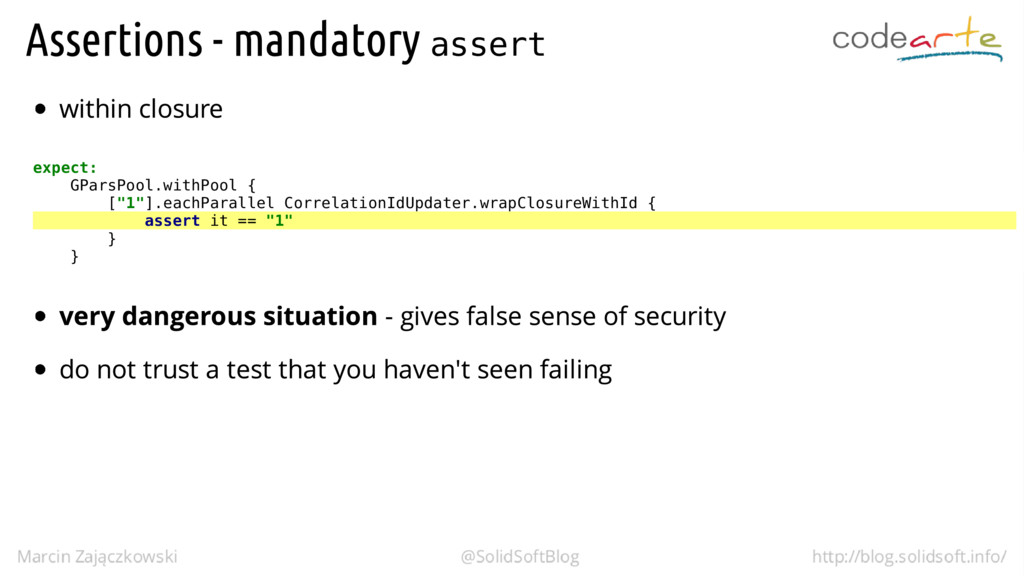"assert expect: GParsPool.withPool { [""1""].eachP..."