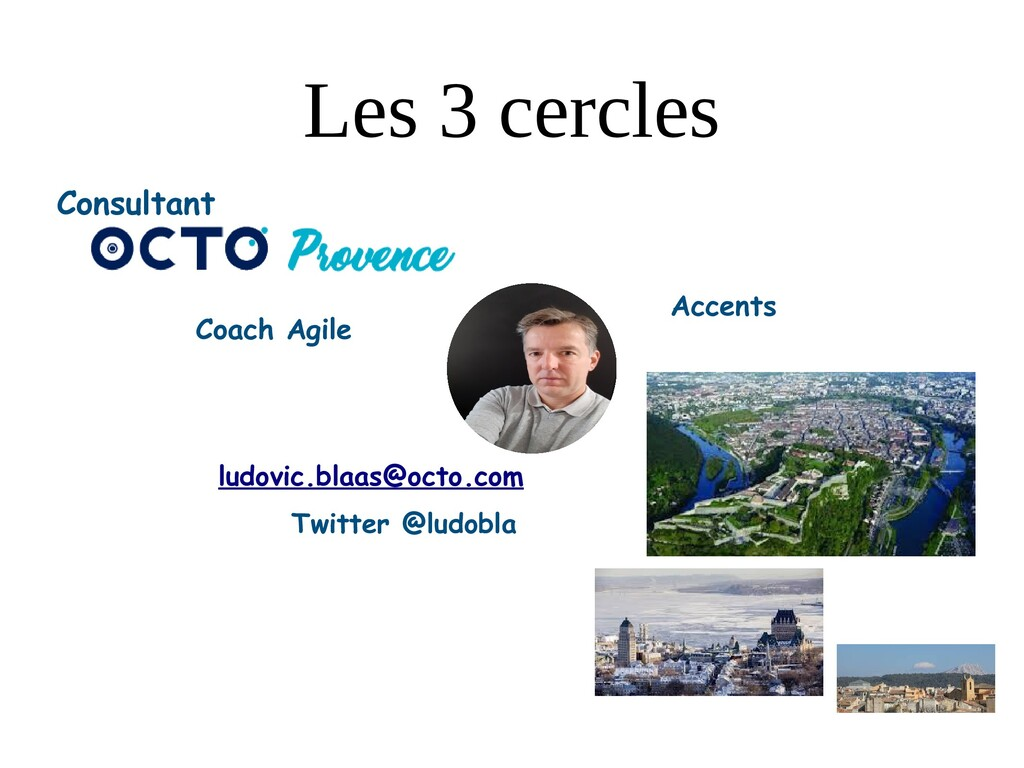 Les 3 cercles Consultant Coach Agile Accents lu...