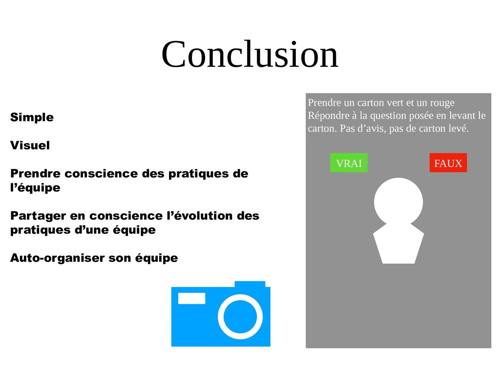 Conclusion Simple Visuel Prendre conscience des...